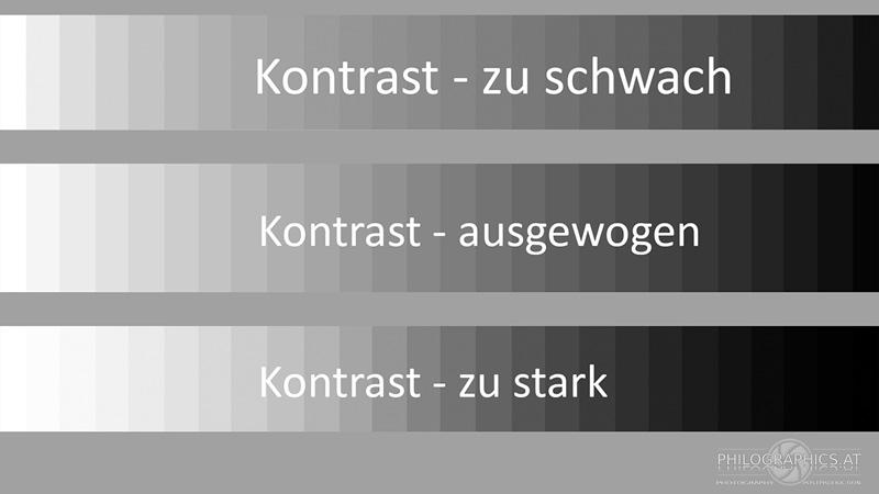 Kontrast Erklärung des Kamera RAW Konverters von philographics alias Philipp Schulz